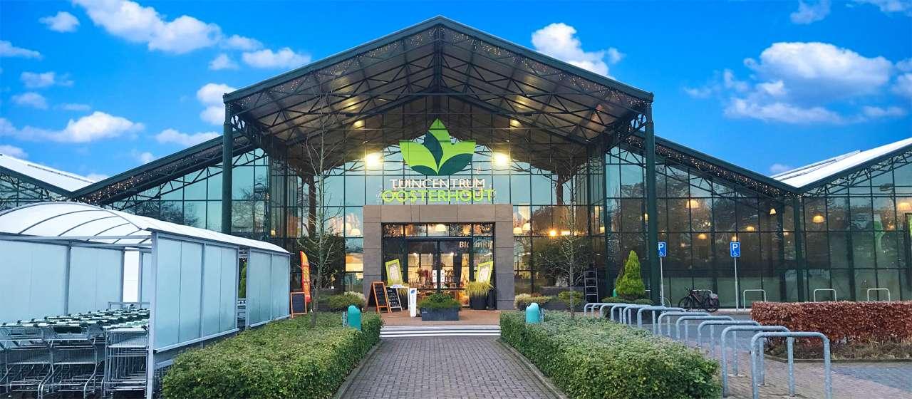 Het mooie tuincentrum Oosterhout