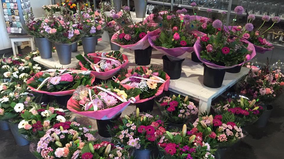 Bloemenwinkel met groot aanbod nabij Breda