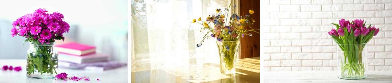 Glazen bloempotten | GroenRijk Oosterhout