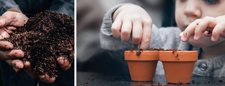 Diverse soorten potgrond vindt u bij Tuincentrum Oosterhout
