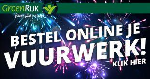 Bestel online uw vuurwerk en haal het op bij GroenRijk Oosterhout
