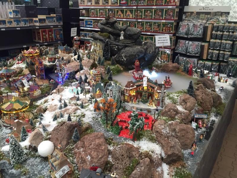 Lemax op onze kerstmarkt nabij Breda